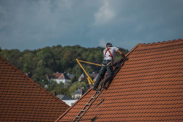 Winterfest Dach